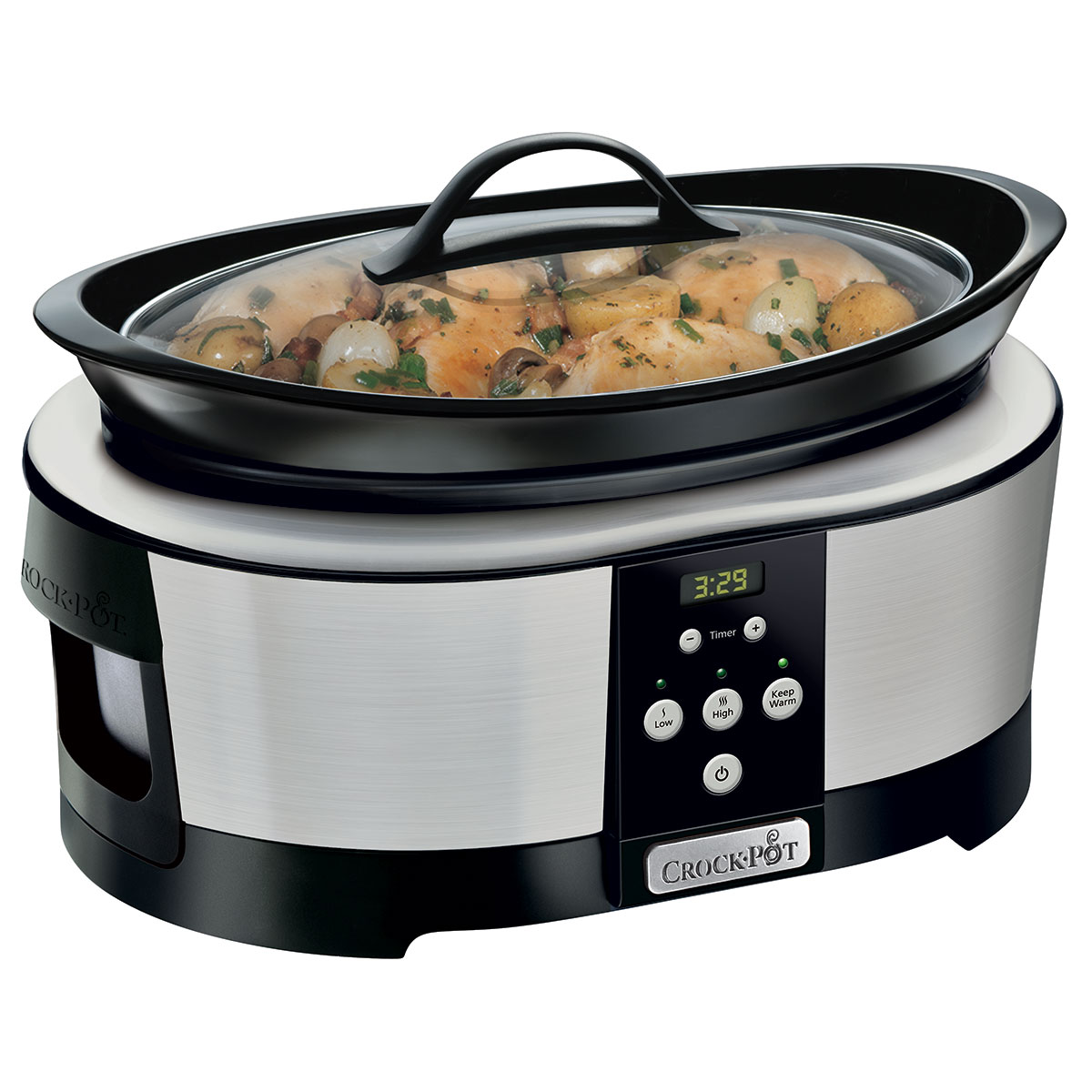 Crockpot slow cooker - 5,7 liter