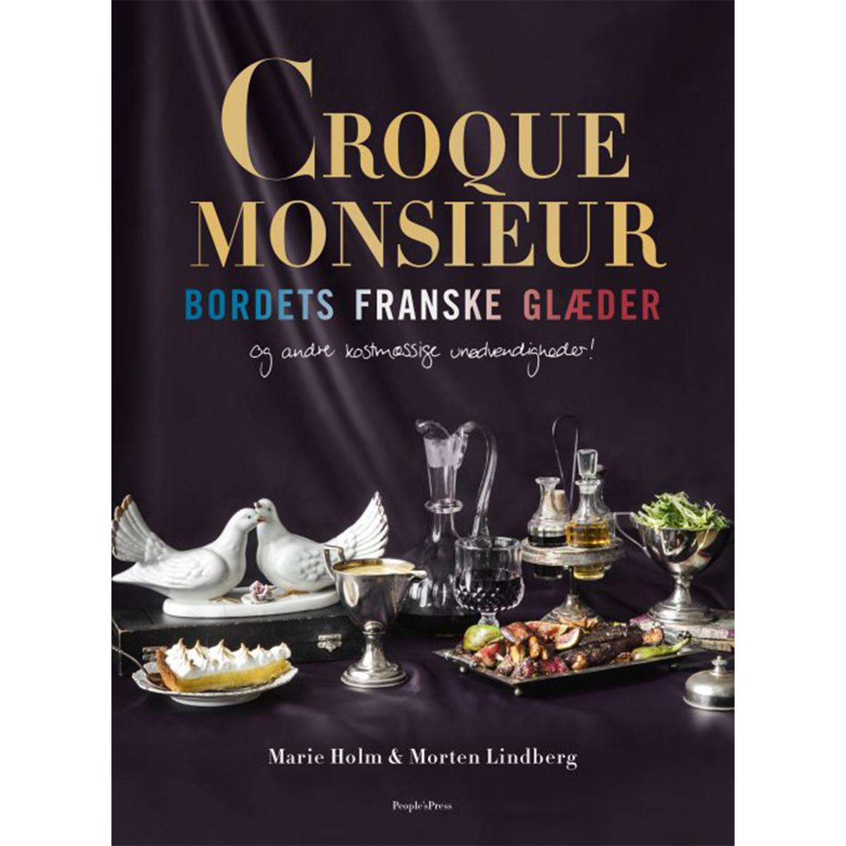 Image of   Croque Monsieur - bordets franske glæder - Indbundet