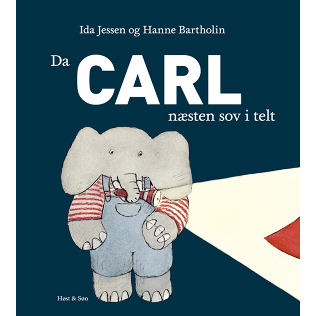 Image of   Da Carl næsten sov i telt - Indbundet