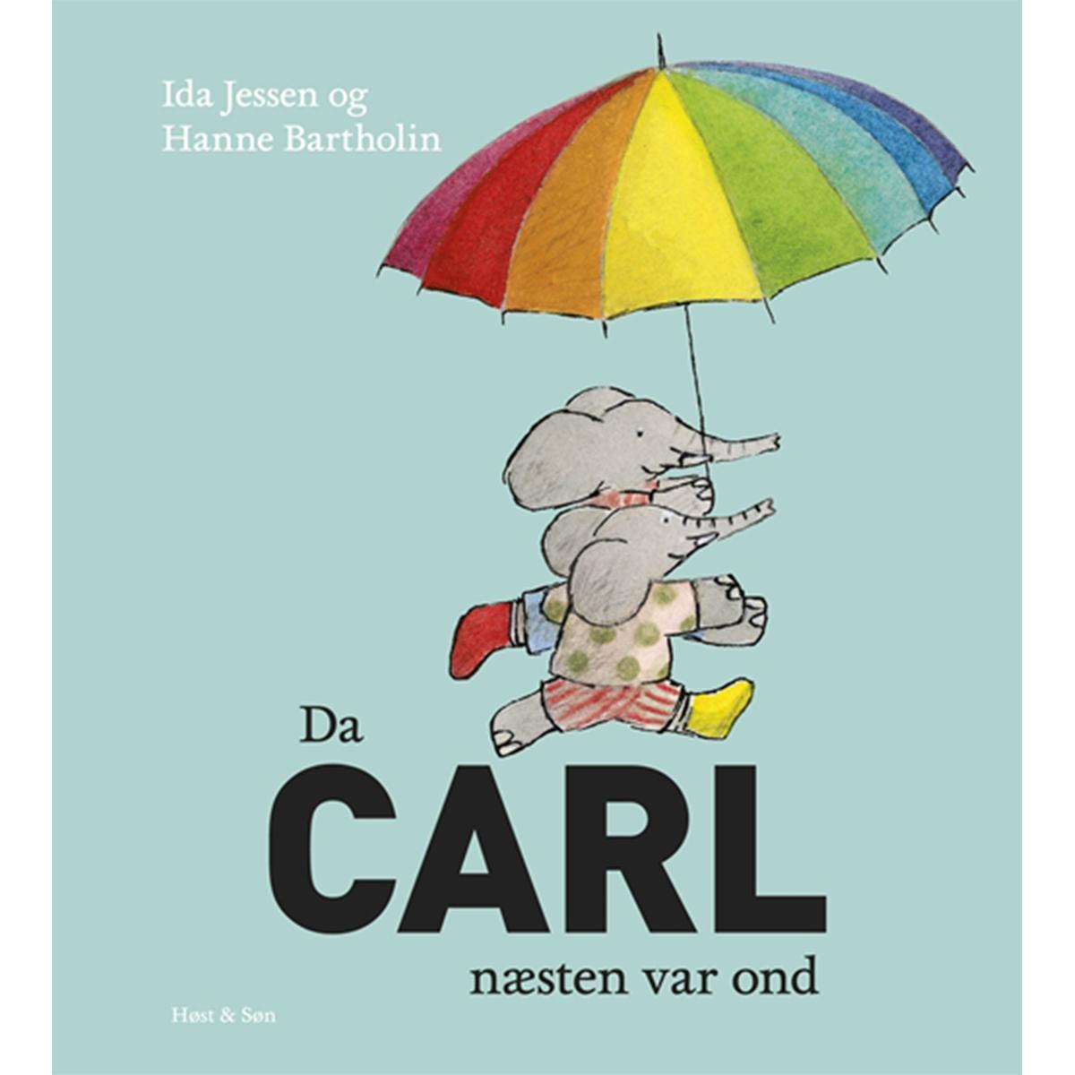 Image of   Da Carl næsten var ond - Indbundet