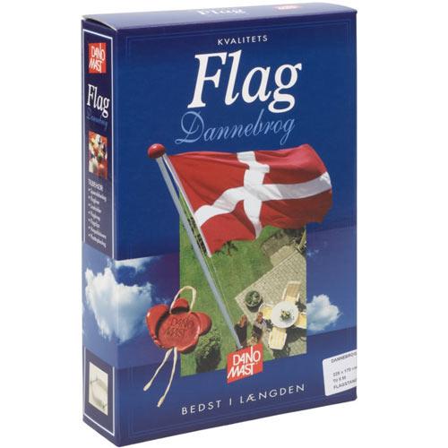 Dannebrogsflag til 6 meters flagstang