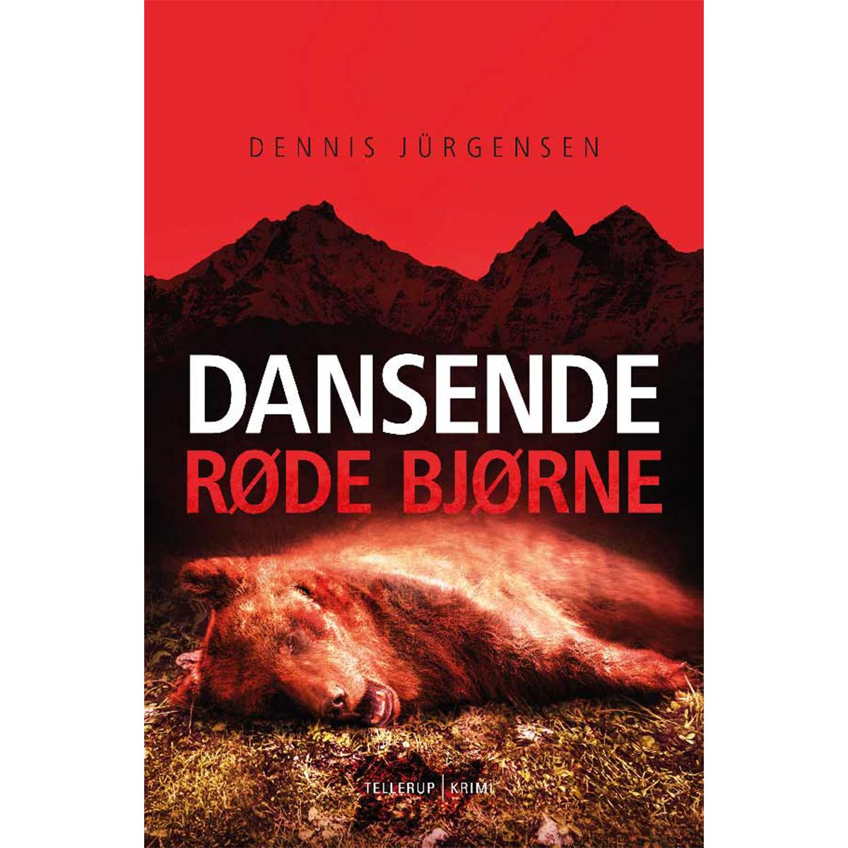 Image of   Dansende røde bjørne - Hardback