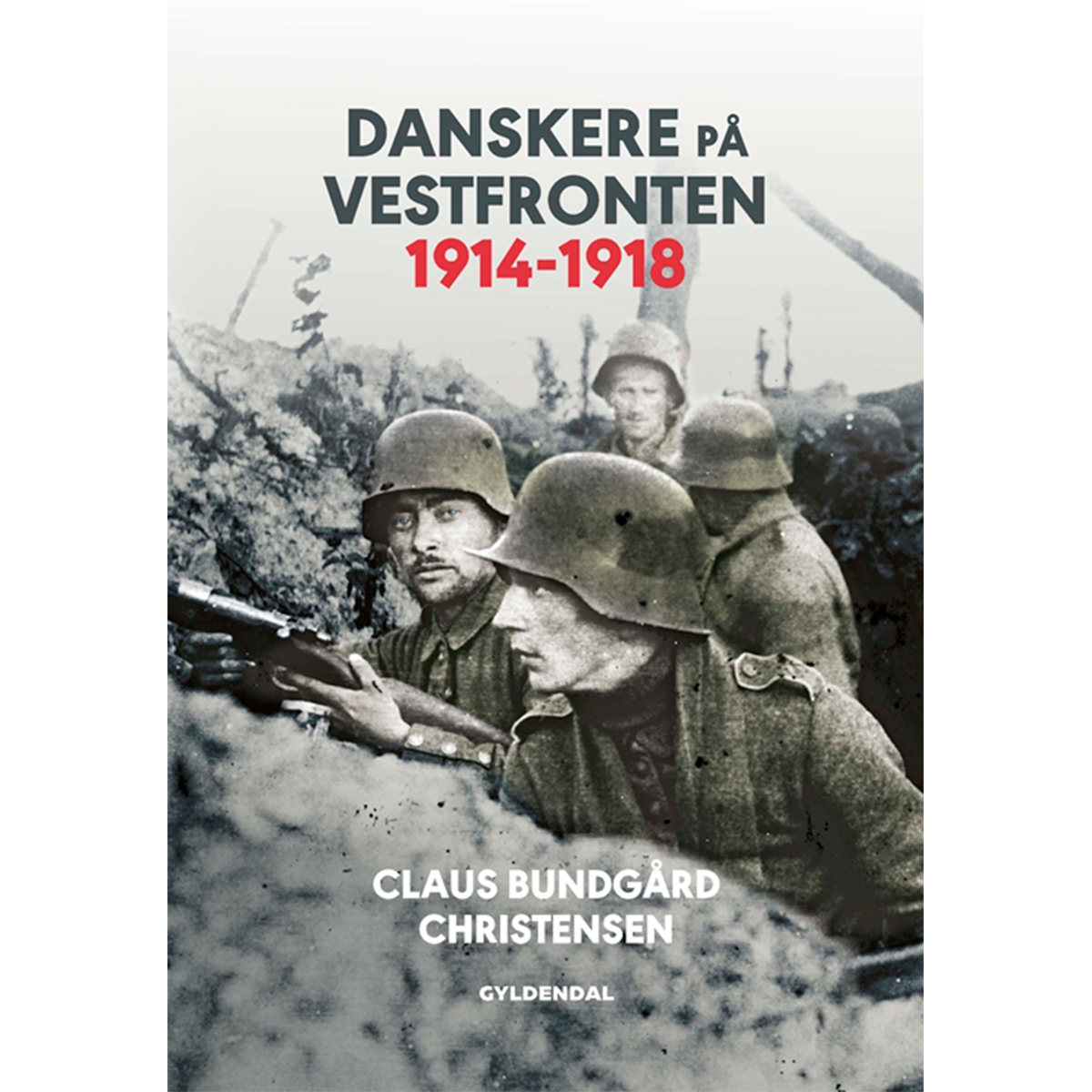 Image of   Danskere på Vestfronten 1914-1918 - Indbundet