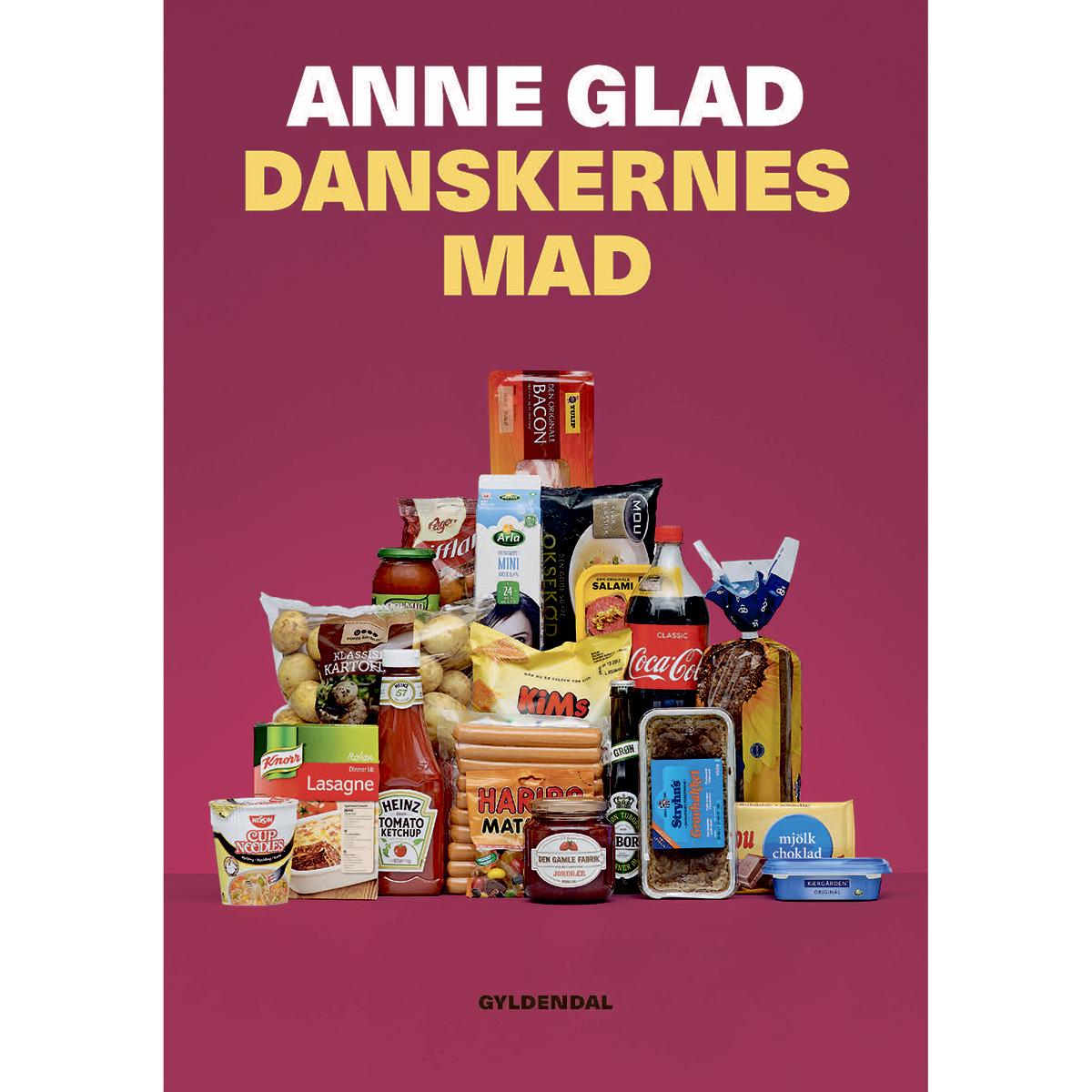 Image of   Danskernes mad - Hæftet