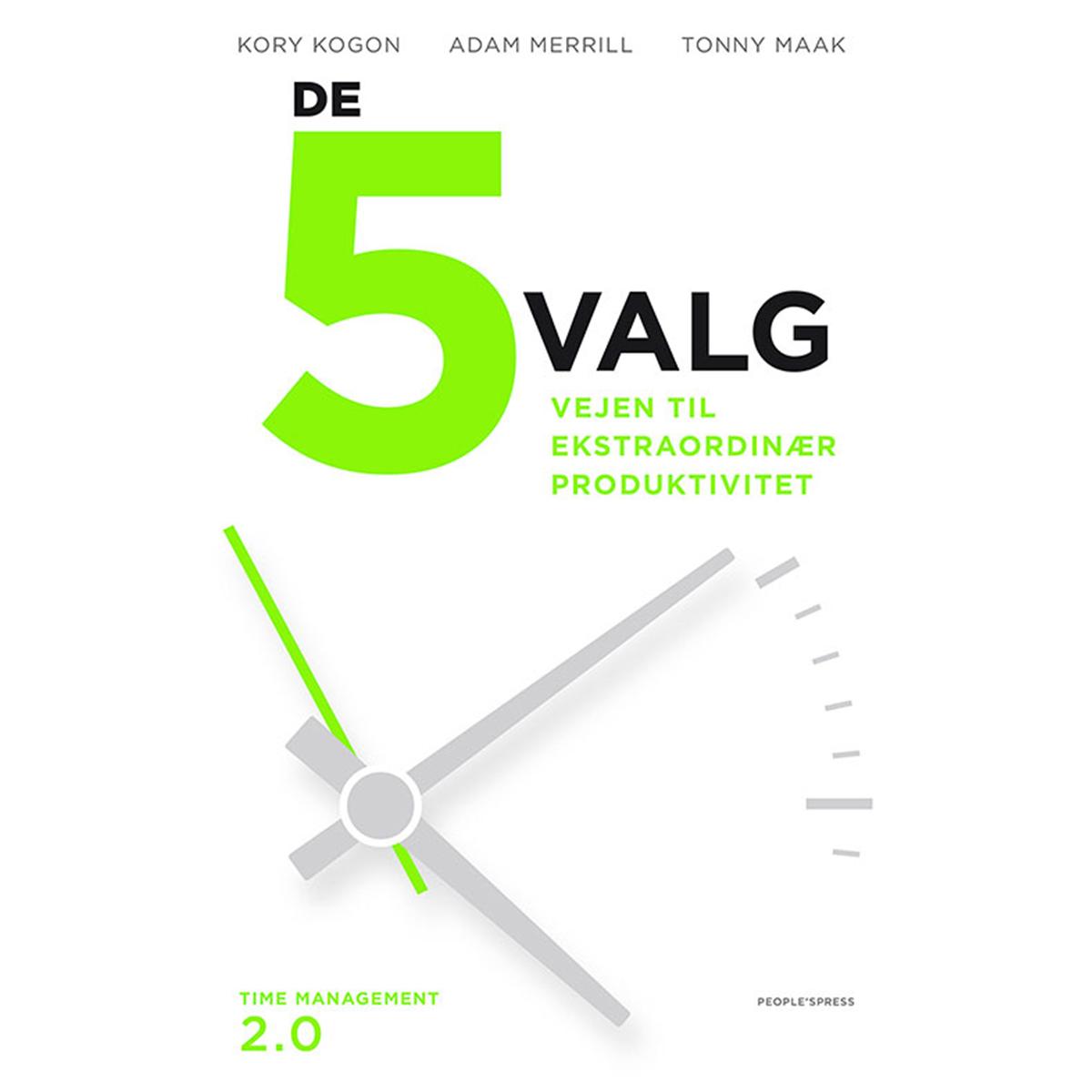 Image of   De 5 valg - Indbundet