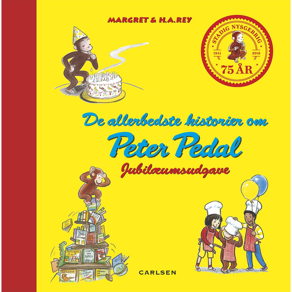 Image of   De allerbedste historier med Peter Pedal - Jubilæumsudgave - Indbundet