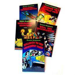 Billede af De fem bøger med Freddy og monstrene - Paperback