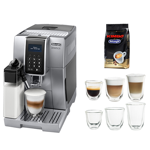 Image of   DeLonghi espressomaskine - Ecam 350.75.S - Metal