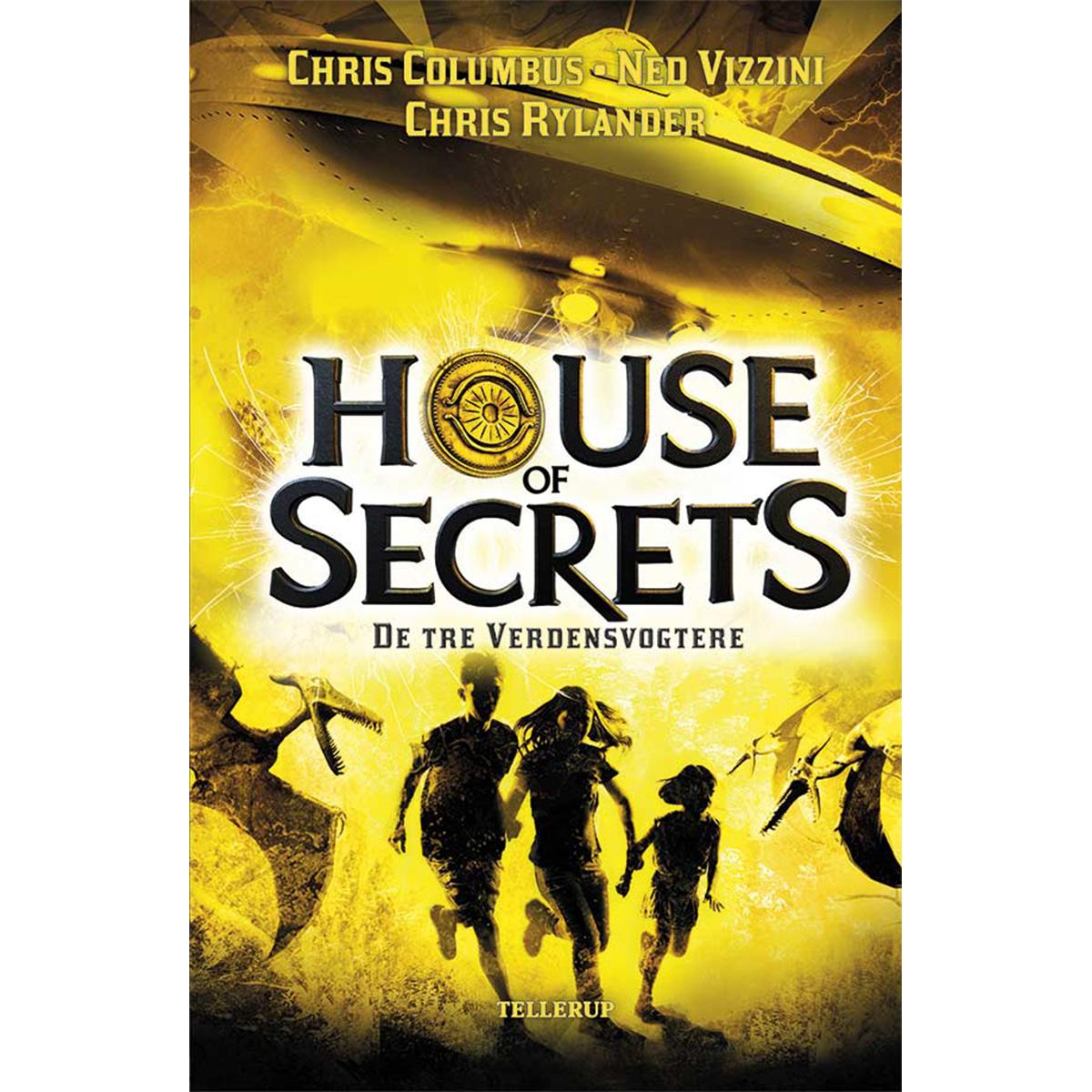 Image of   De tre verdensvogtere - House of Secrets 3 - Hardback