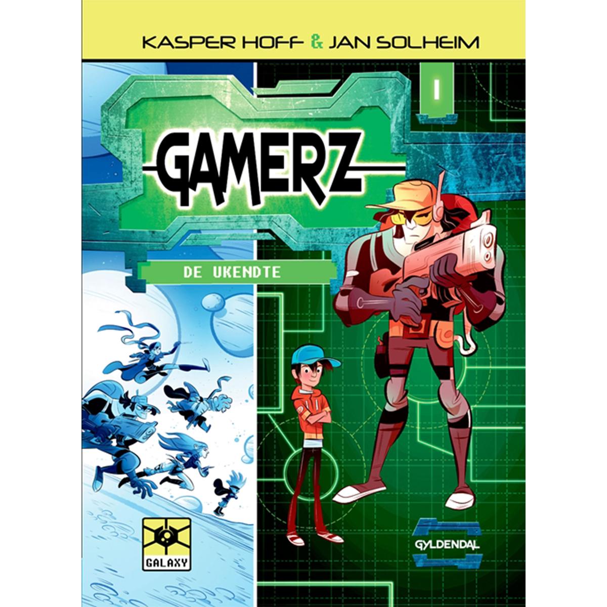 Image of   De ukendte - Gamerz 1 - Indbundet