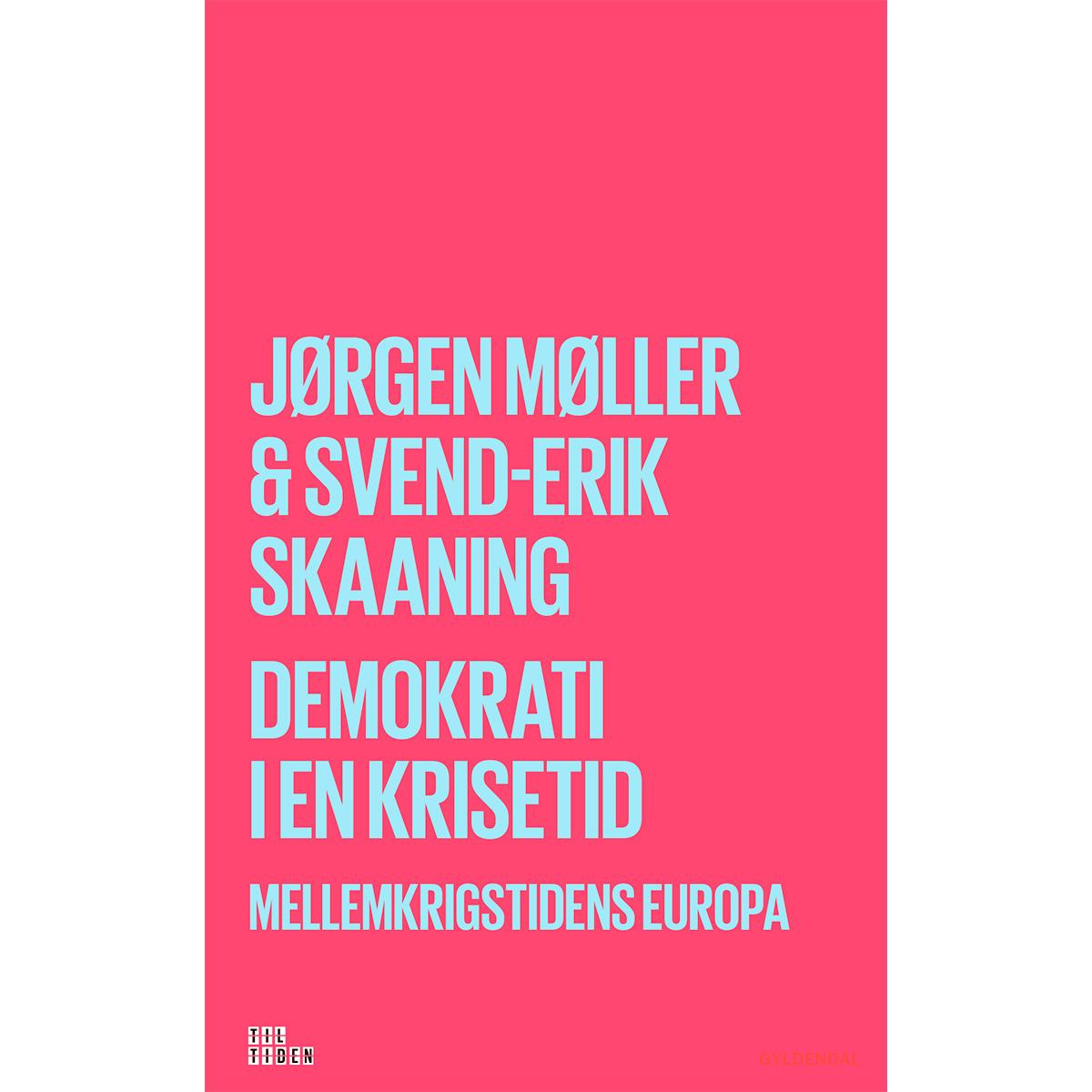 Image of   Demokrati i en krisetid - Mellemkrigstidens Europa - Hæftet
