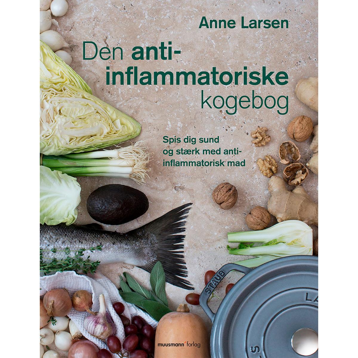 Image of   Den anti-inflammatoriske kogebog - Paperback