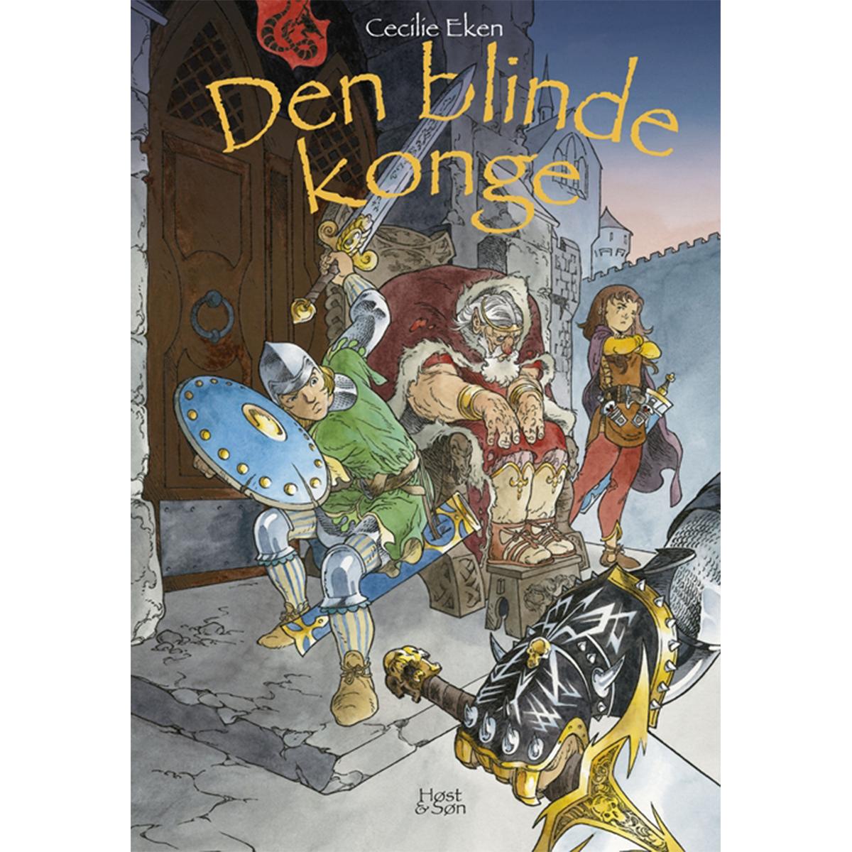 Image of   Den blinde konge - Det levende sværd 2 - Indbundet