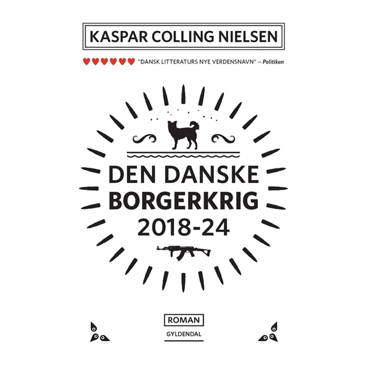 Image of   Den danske borgerkrig 2018-24 - Paperback