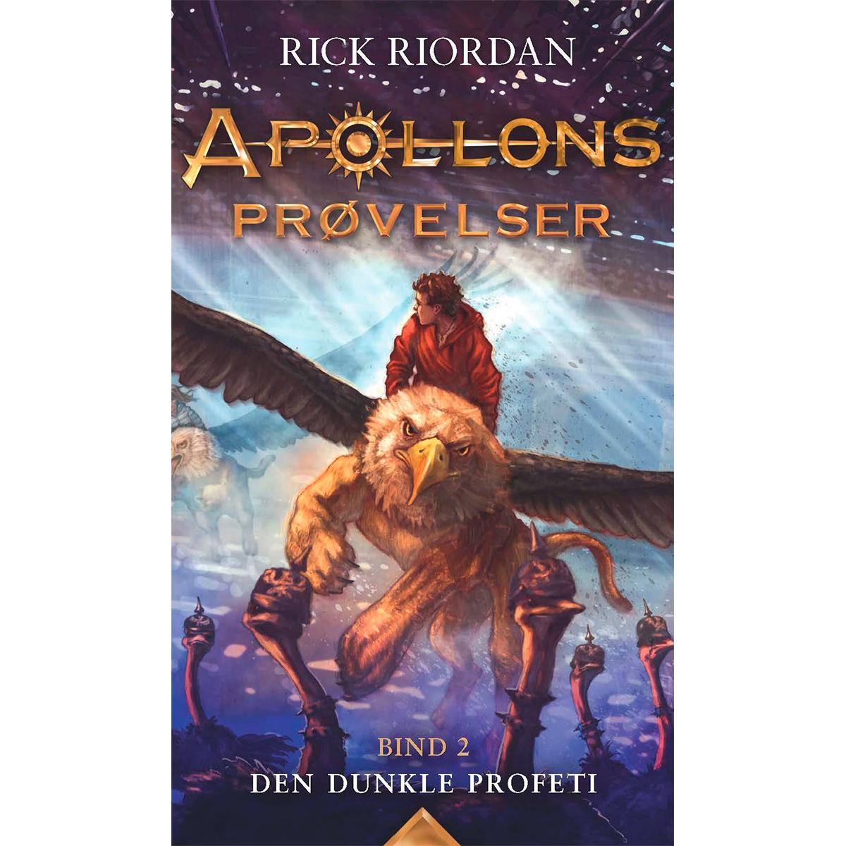 Image of   Den dunkle profeti - Apollons prøvelser 2 - Indbundet