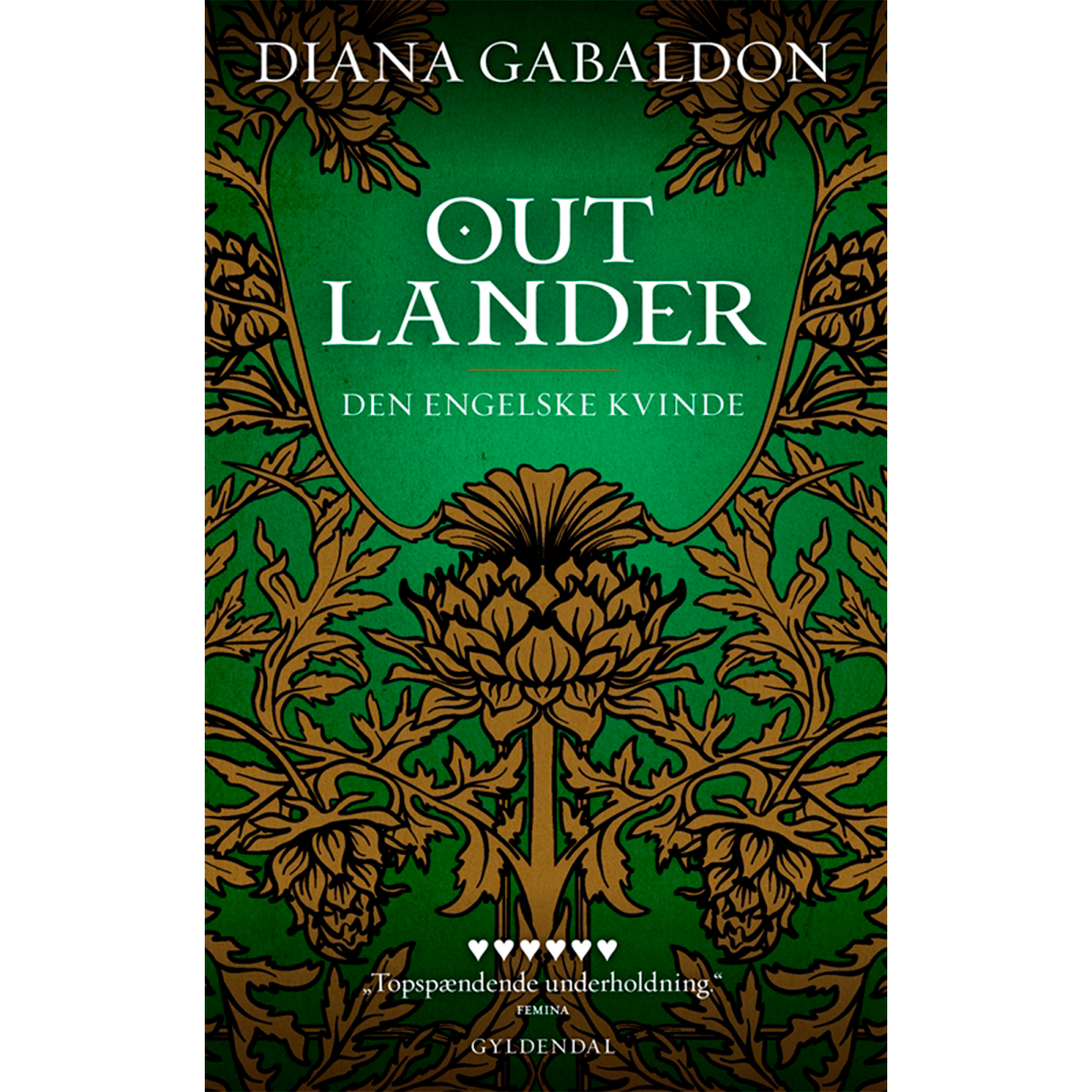 Image of   Den engelske kvinde - Outlander 1 - Paperback