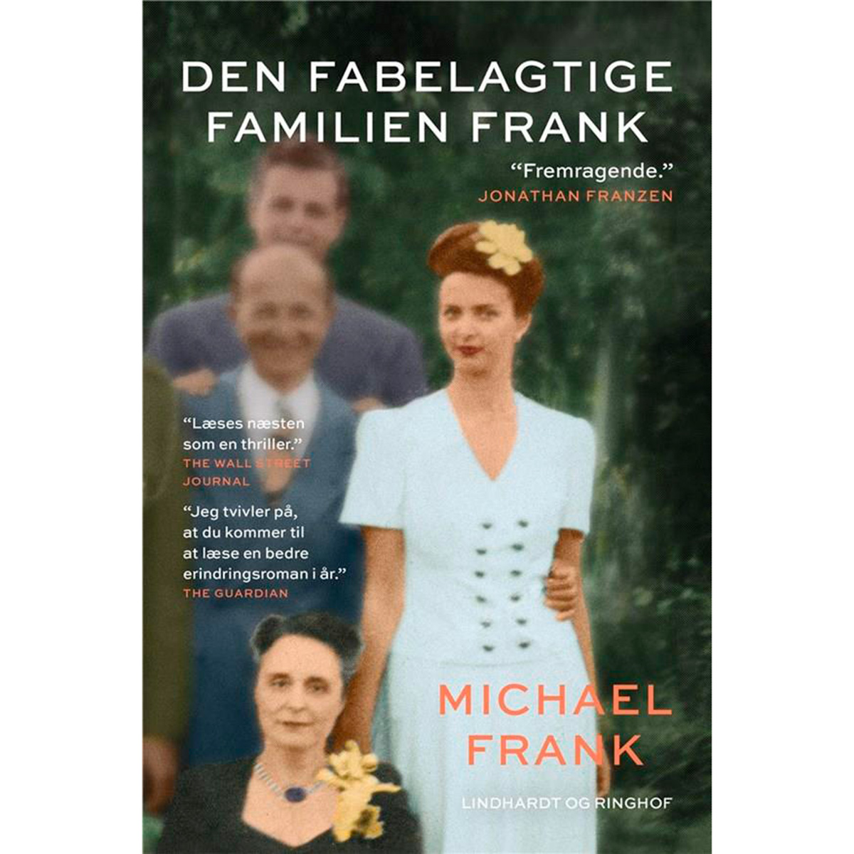 Image of   Den fabelagtige familien Frank - Hardback