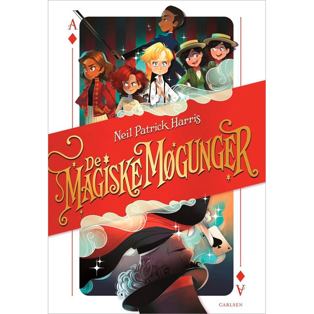 Image of   Den første historie - De magiske møgunger 1 - Indbundet