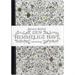 Image of   Den hemmelige have - notesbog - Indbundet