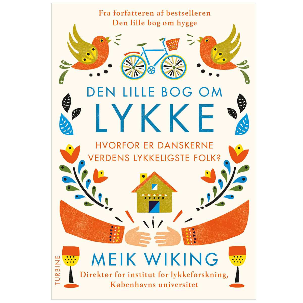 Image of   Den lille bog om lykke - Hæftet
