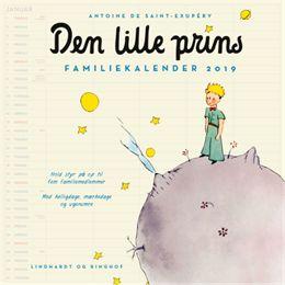 Image of   Den lille prins - Familiekalender 2019 - Hæftet