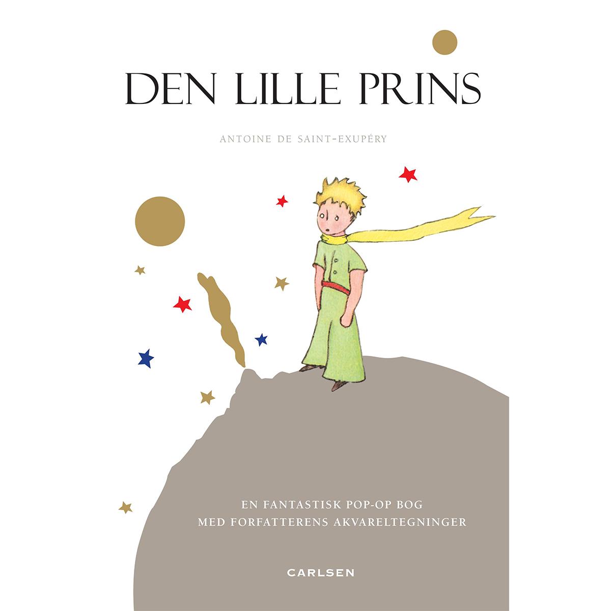 Image of   Den lille prins - pop-up bog - Indbundet