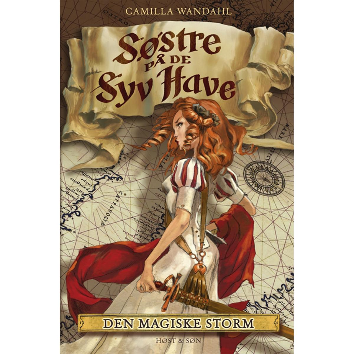 Image of   Den magiske storm - Søstre på de syv have 2 - Indbundet