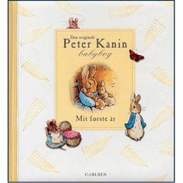 Billede af Den originale Peter Kanin babybog - Mit første år - Indbundet