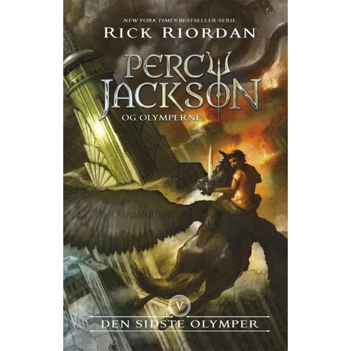 Image of   Den sidste olymper - Percy Jackson og olymperne 5 - Indbundet
