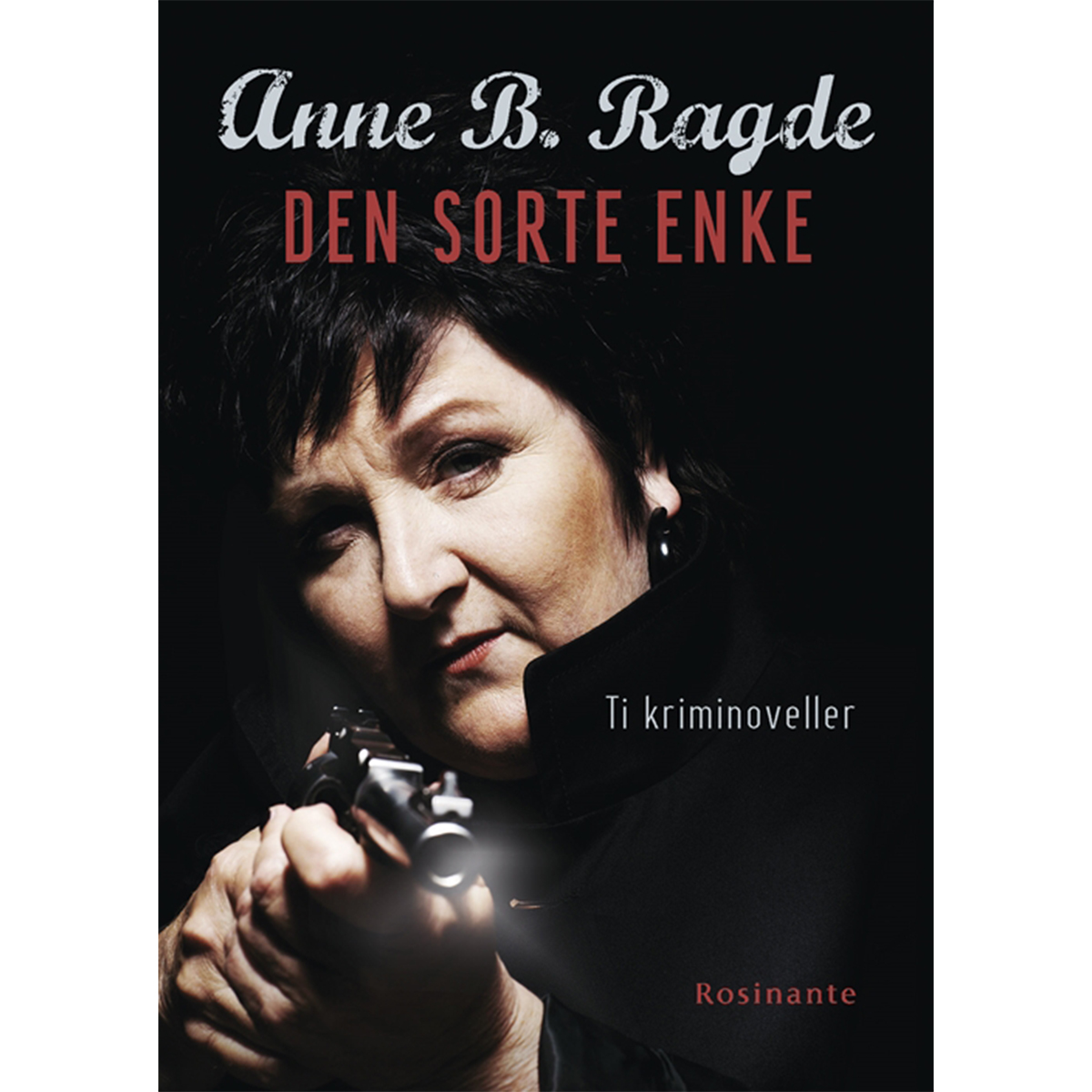 Image of   Den sorte enke - 10 krimihistorier - Indbundet