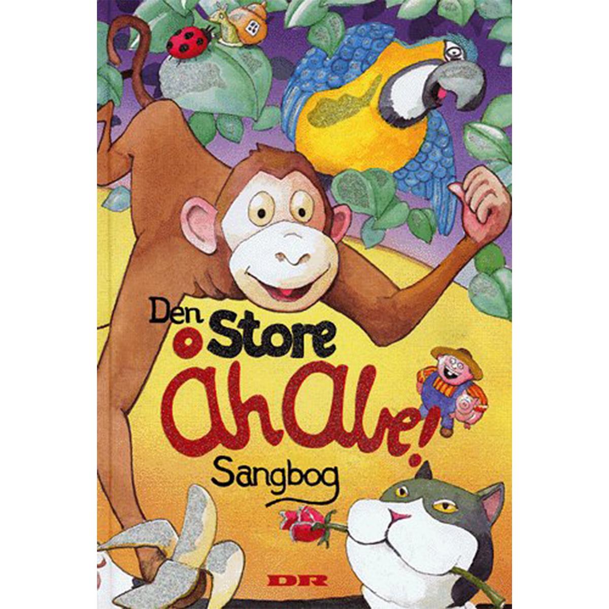 Image of   Den Store Åh Abe! sangbog - Hardback