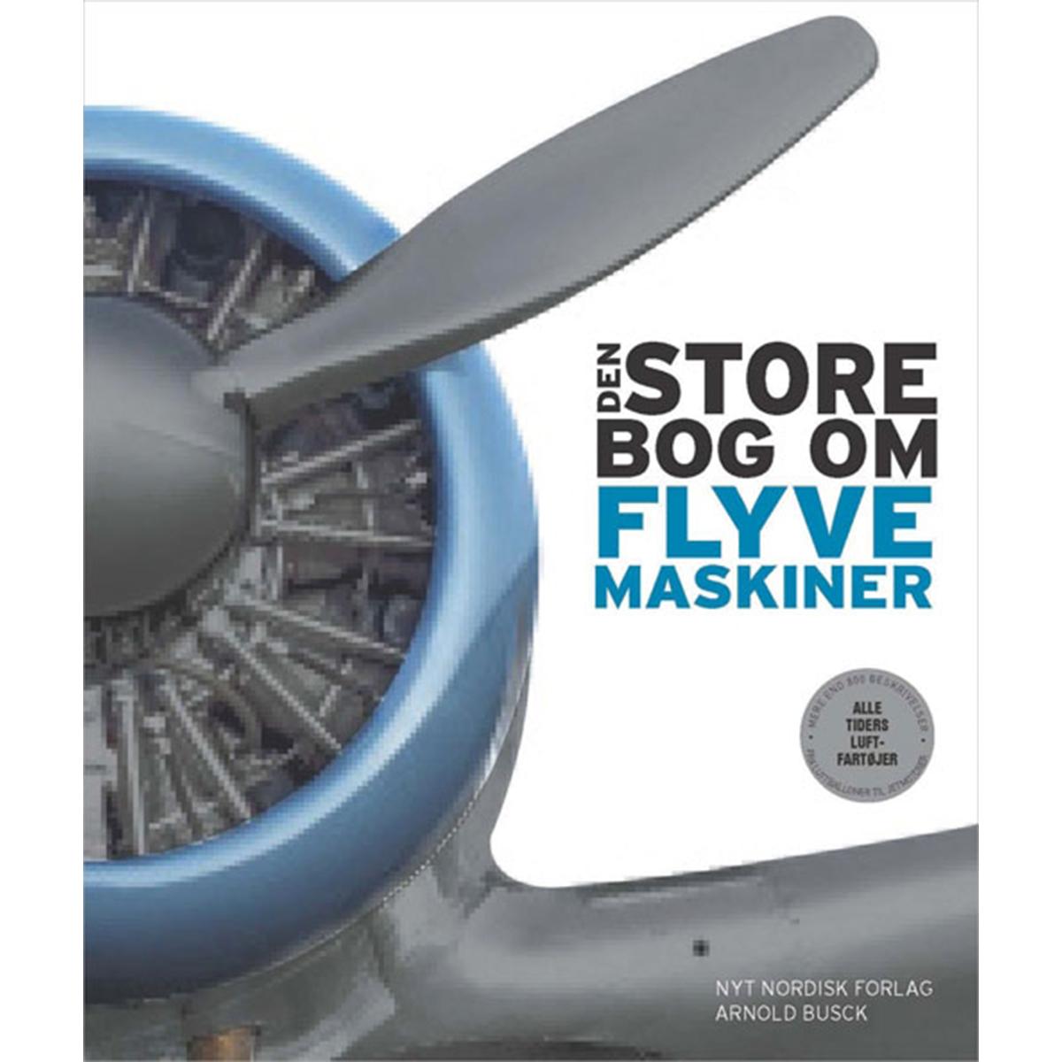Image of   Den store bog om flyvemaskiner - Indbundet