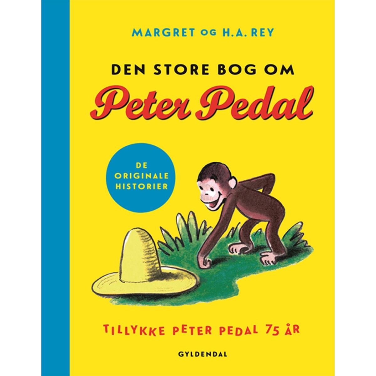 Image of   Den store bog om Peter Pedal - Tillykke Peter Pedal 75 år - Indbundet