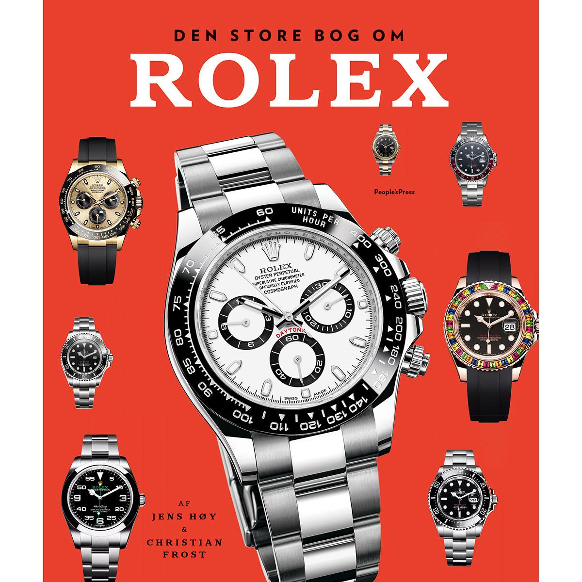 Image of   Den store bog om Rolex - Indbundet