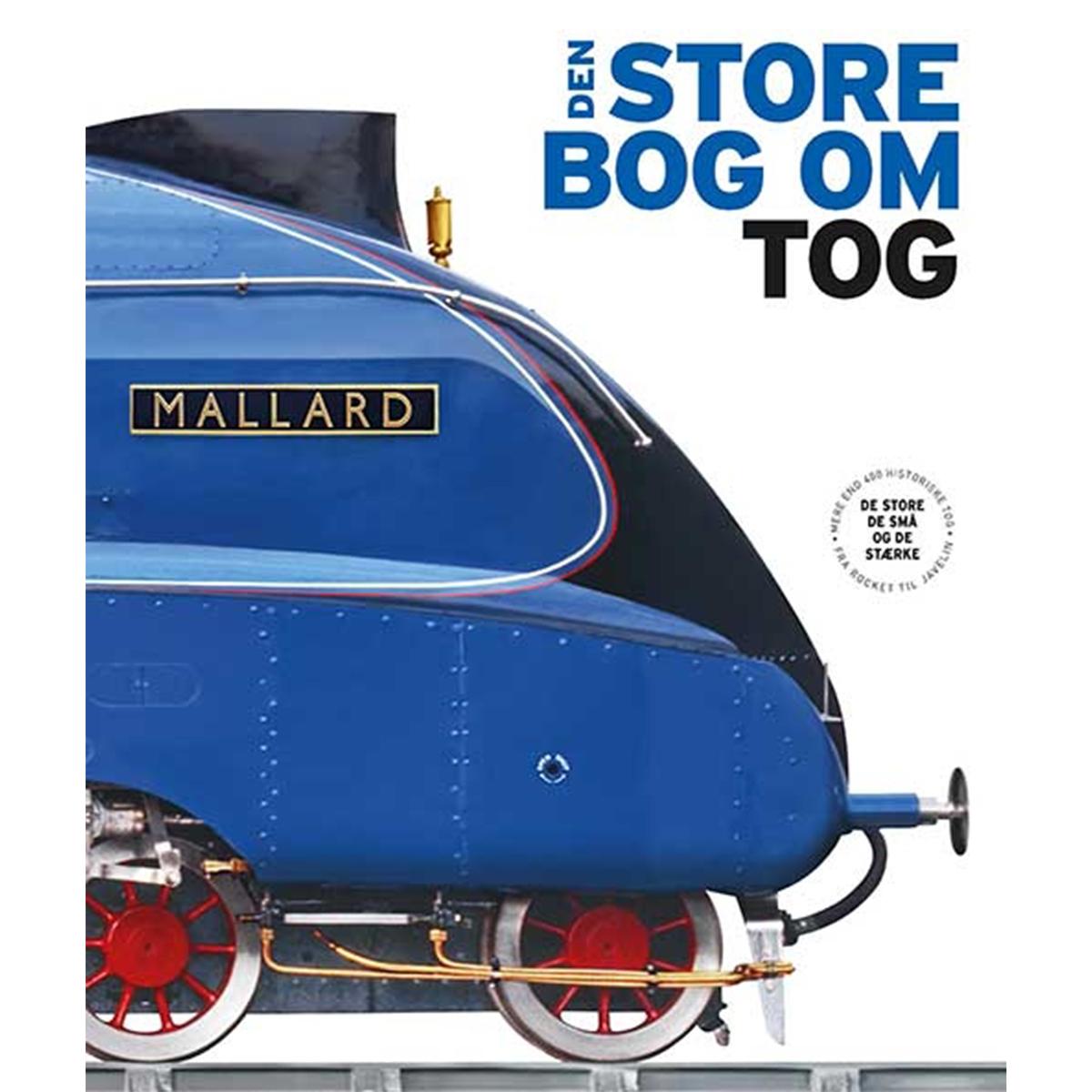 Image of   Den store bog om tog - Indbundet