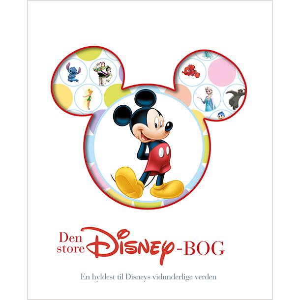 Image of   Den store Disney-bog - Indbundet