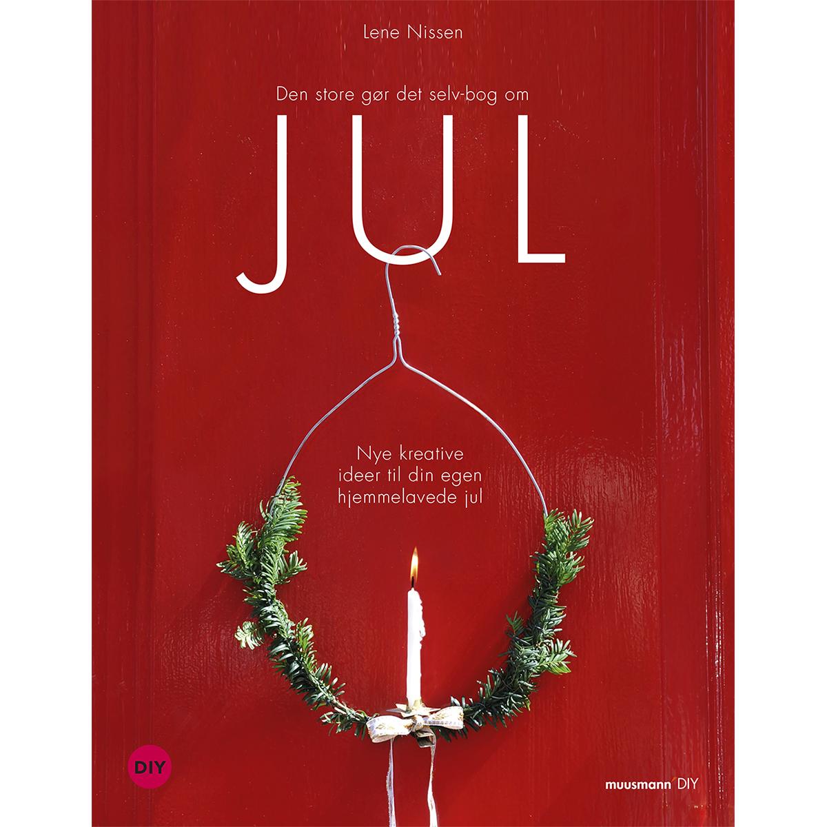 Image of   Den store gør-det-selv-bog om jul - Hardback