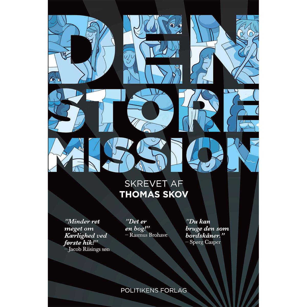 Image of   Den store mission - Indbundet