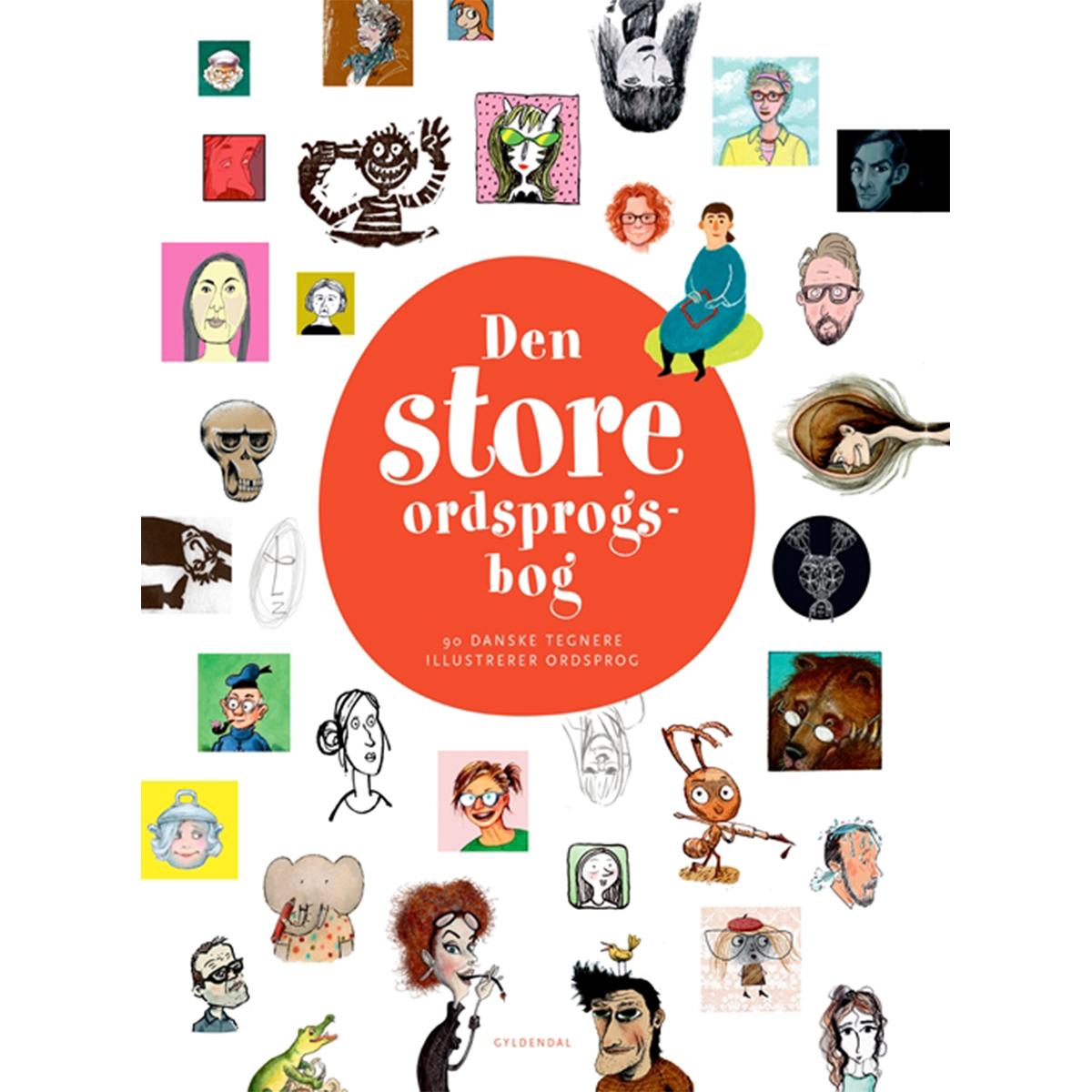 Image of   Den store ordsprogsbog - Indbundet