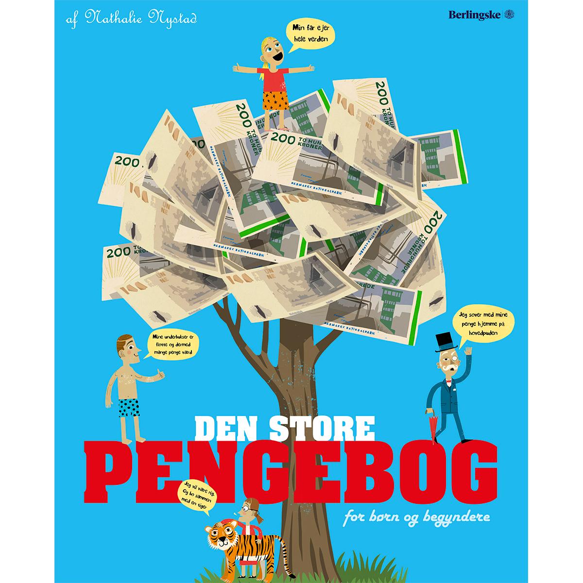 Image of   Den store pengebog - For børn og begyndere - Indbundet