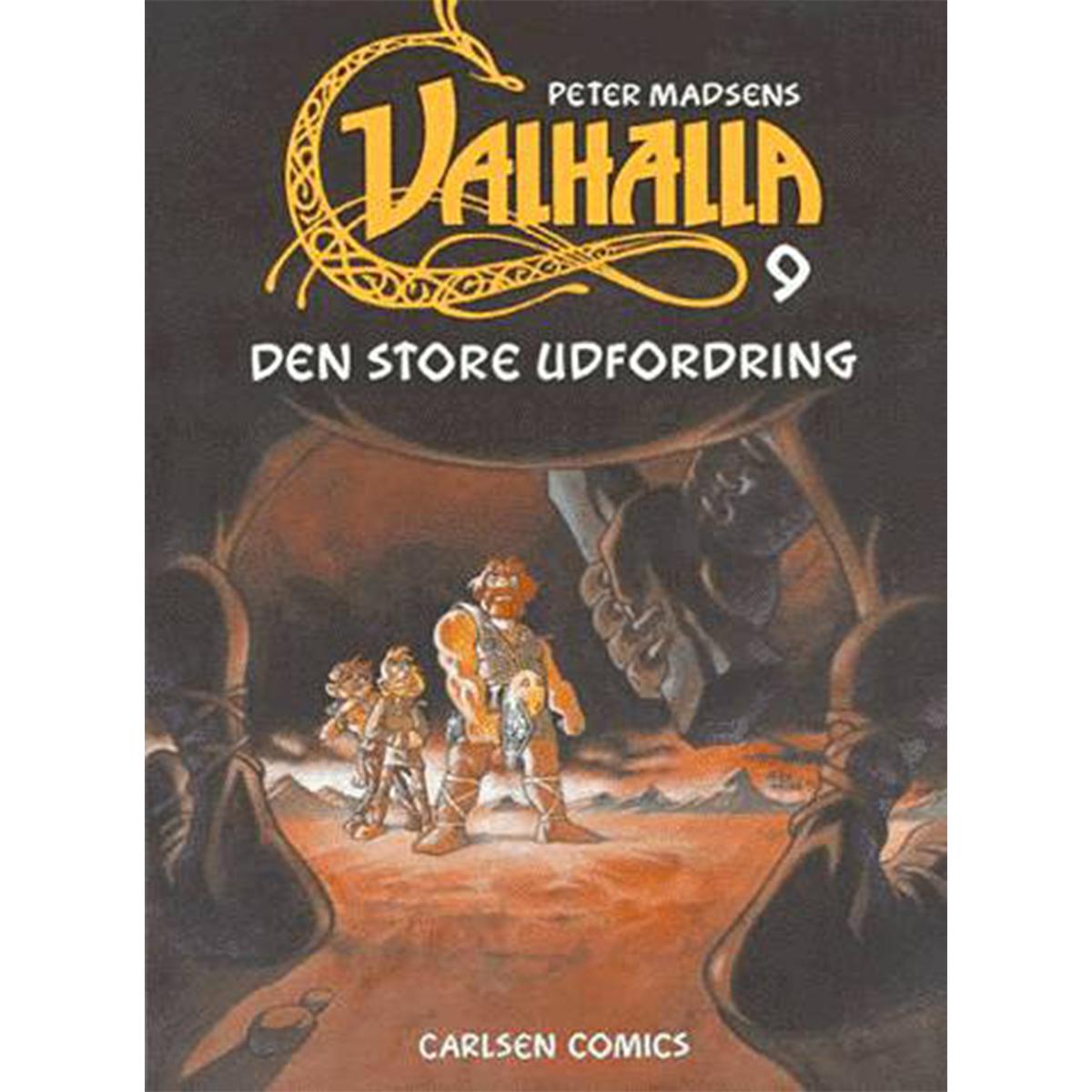 Image of   Den store udfordring - Valhalla 9 - Hæftet