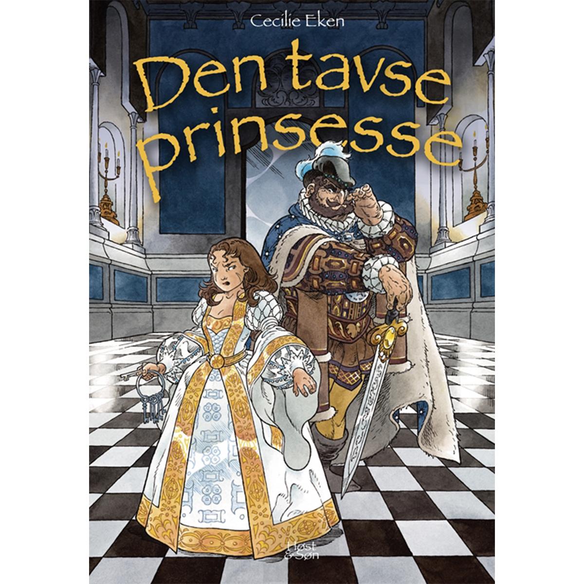 Image of   Den tavse prinsesse - Det levende sværd 3 - Indbundet