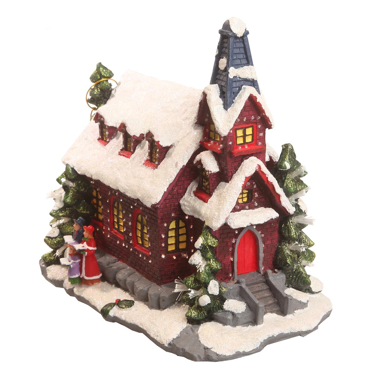 Image of   Det Gamle Apotek nisselandskab - Julekirke