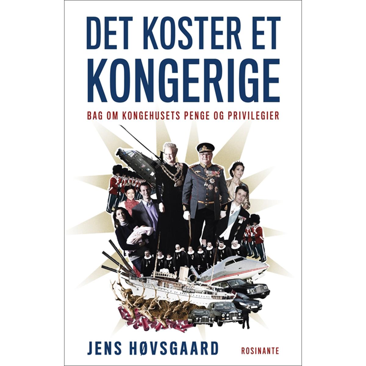Image of   Det koster et kongerige - Hæftet