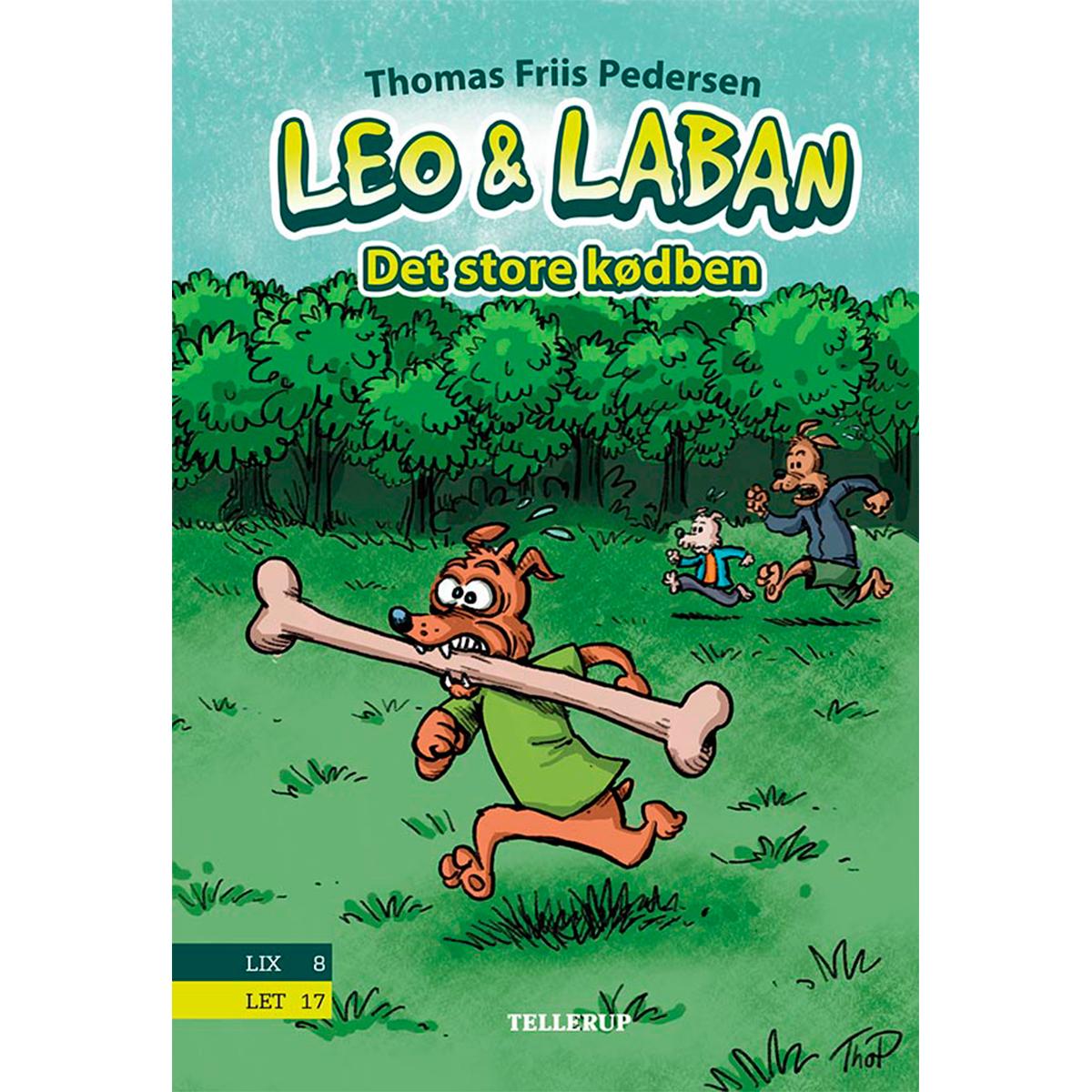 Image of   Det store kødben - Leo & Laban 1 - Hardback