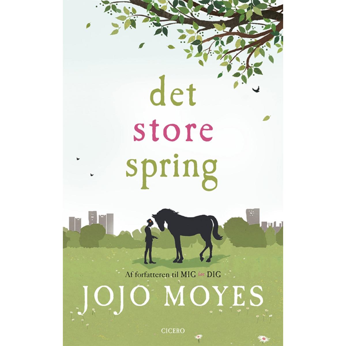 Image of   Det store spring - Indbundet