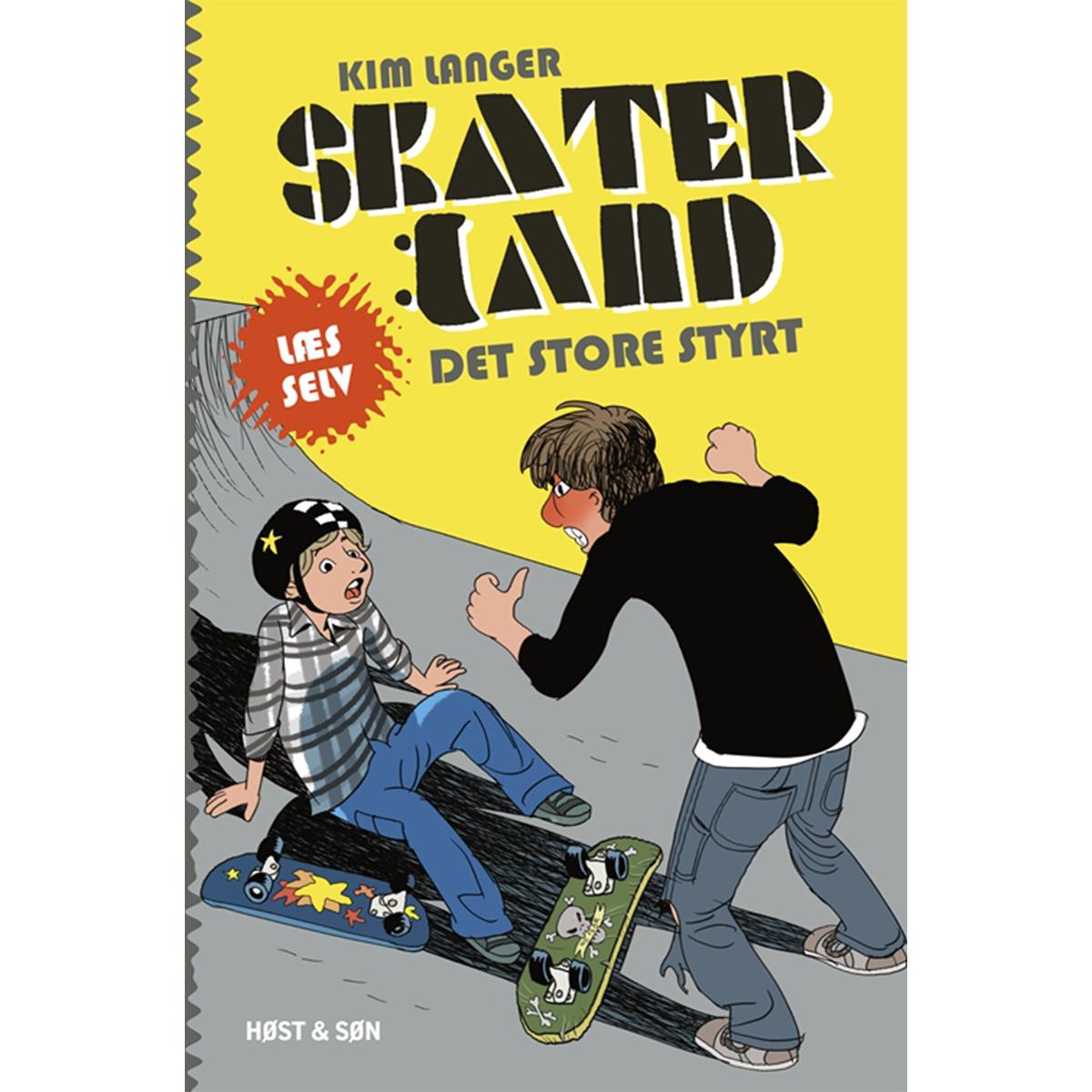 Image of   Det store styrt - Skaterland 1 - Indbundet