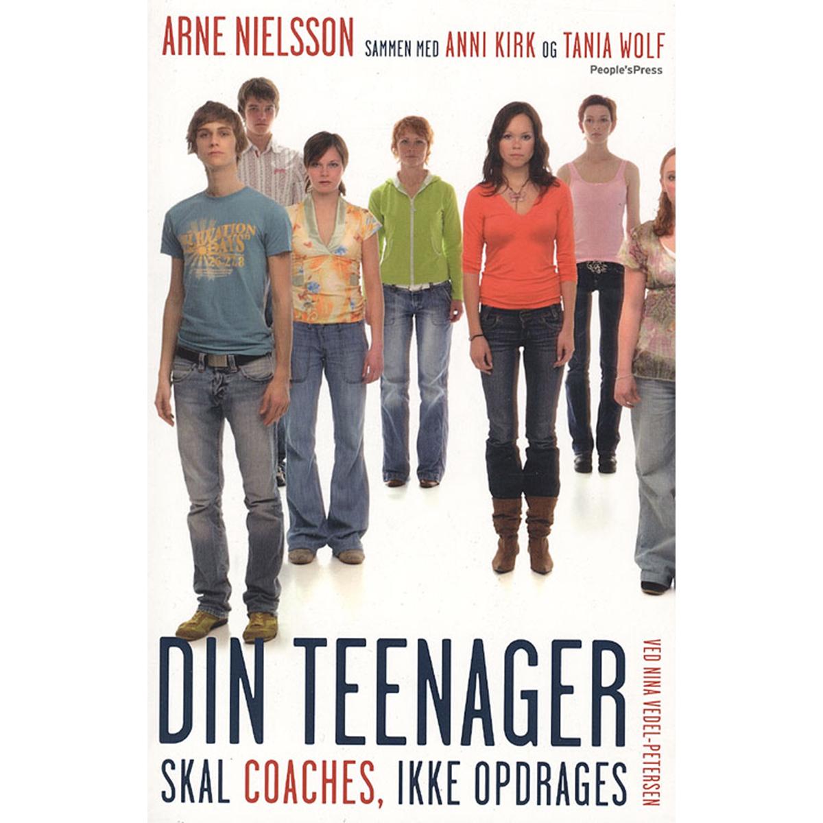 Image of   Din teenager skal coaches, ikke opdrages - Hæftet