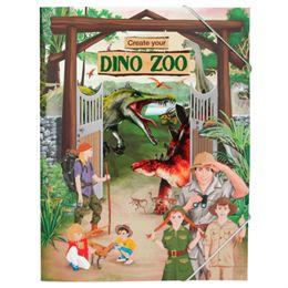 Image of   Dino World aktivitetsbog - Create your dino zoo