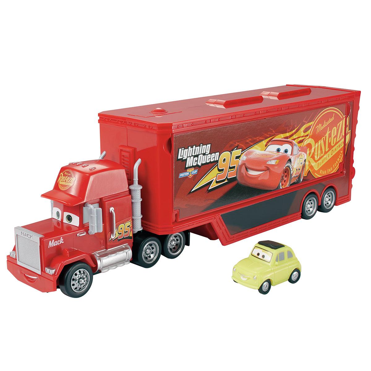 Image of   Disney Pixar Cars 3 lastbil - Travel Time Mack